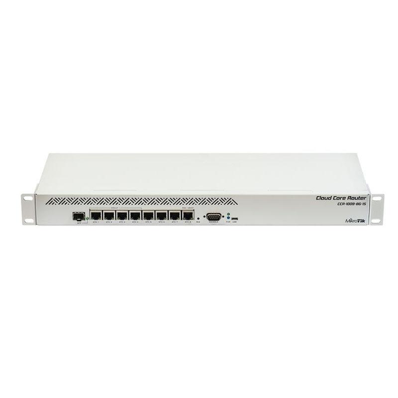 MikroTik CCR1009-8G-1S RouterOS 路由器